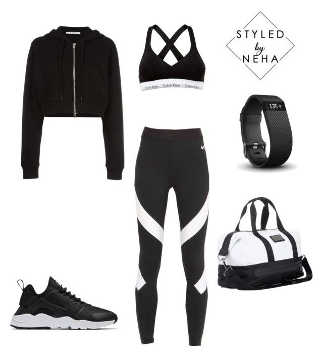353d2e8d5 Untitled #35 by styledbyneha on Polyvore featuring polyvore fashion style  Givenchy NIKE Calvin Klein adidas Fitbit clothing