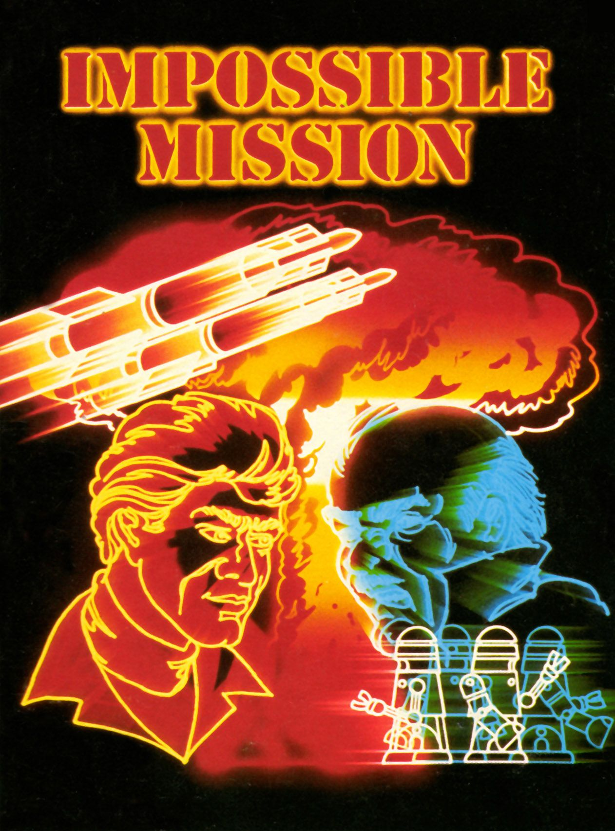 """Cover illustration for """"Impossible Mission,"""" an espionage"""