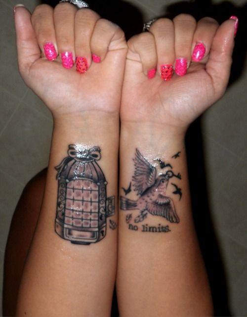 Birdcage Tattoo Dirty Little Secrets