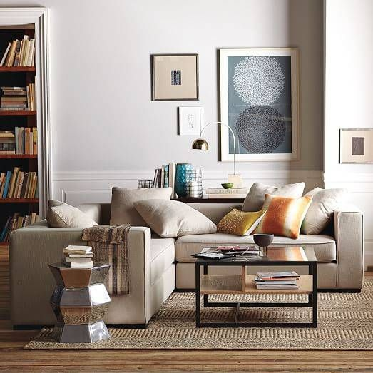 No Space Is Too Small For These Sectional Sofas Domino Sofas For Small Spaces Home Decor Home