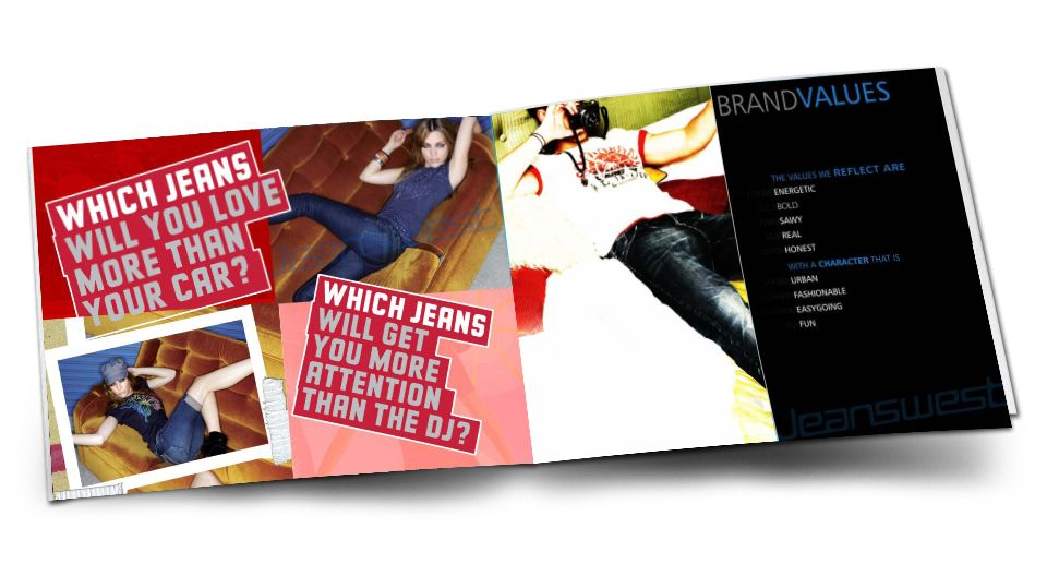 brochure layout jeanswest Catalogue Flyers Brochers Designer - product brochures