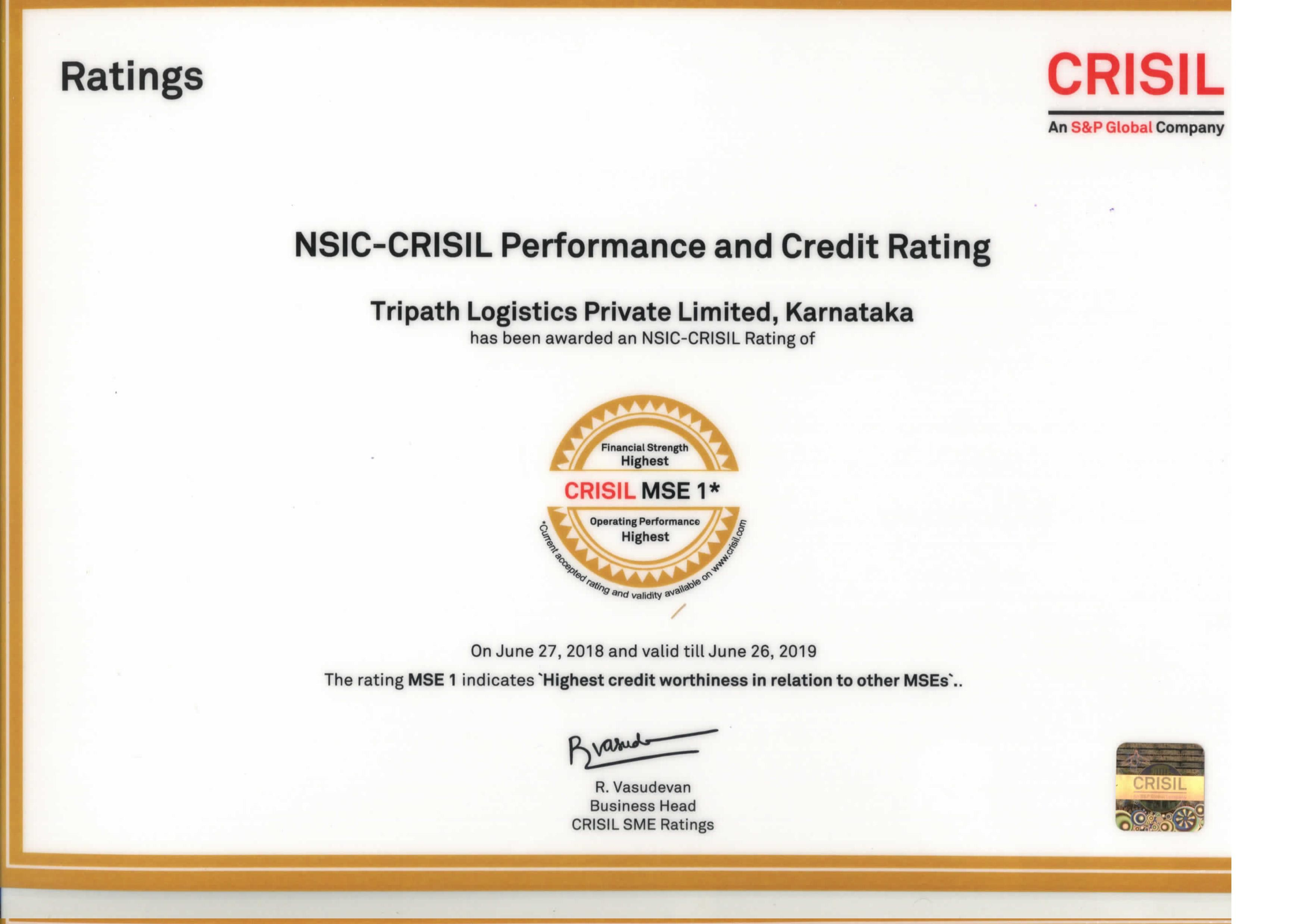 It S A Great Honour Tripathlogistics Have Been Rated The