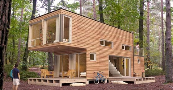 Reused Shipping Container HOMEfire resistant earthquake proof