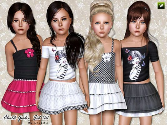Pin by Olivia on Sims clothes | Sims 3 pc, Sims, Sims 4 toddler