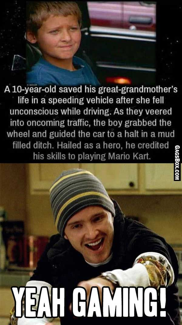 Video Games Taught Us More Than Schools Gagsbox Video Games Funny Funny Games Funny Gaming Memes