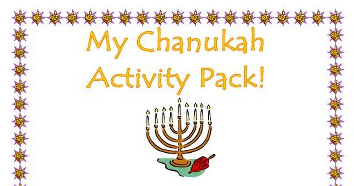 Chanukah Activity Pack.pdf Hanukkah activites, Hanukkah