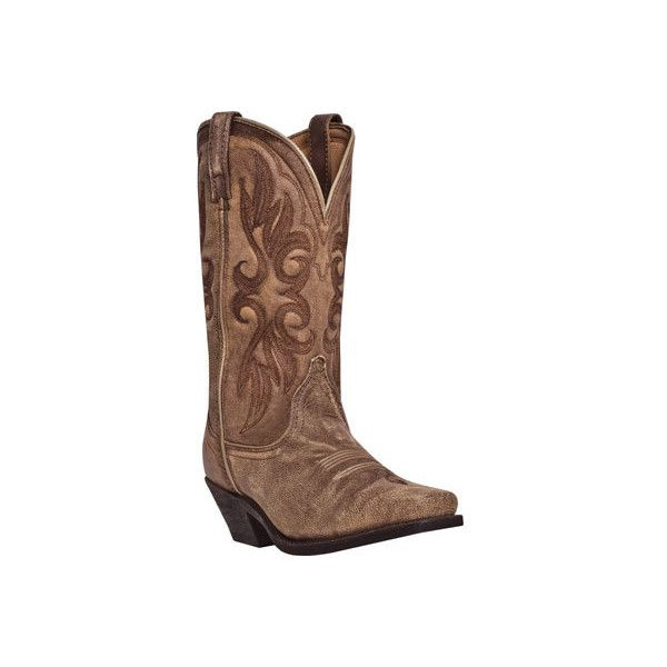 Laredo Womens Boots 51041 Tan Tan Crackle Goat