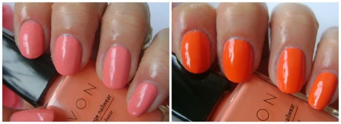 Avon Art of change - Contrast coral.