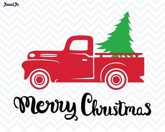 Christmas Truck Svg.Pin On Products
