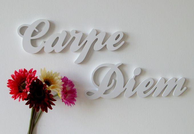 carpe diem buchstabensuppe letter soup pinterest. Black Bedroom Furniture Sets. Home Design Ideas