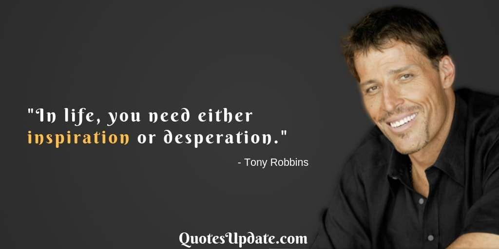 Tony Robbins Quotes On Motivation Quotes Tony Robbins