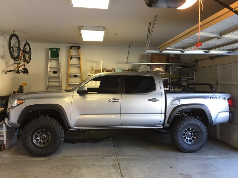 tacoma toyota lifted lift 285 inch 75 emu ome man 70 4x4 trd kits tacomas medium tacomaworld pro cooper road