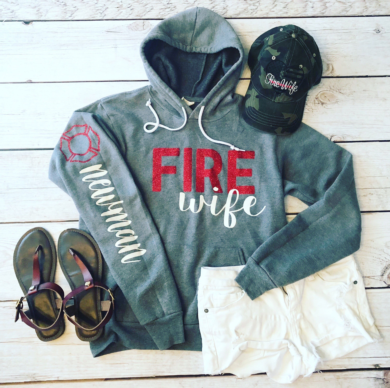Fire wife sweatshirtfirefighter wifeff wifewife
