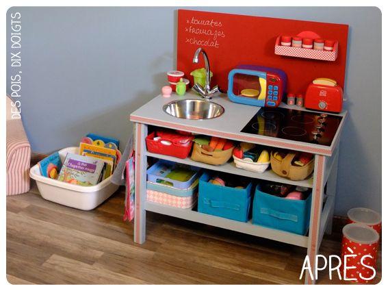do it deux une mini cuisine cuisine bricolage and minis. Black Bedroom Furniture Sets. Home Design Ideas
