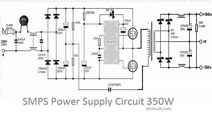 tattoo power supply wiring diagram true freezer t 49f 350w smps circuit | diy audio circuit, electronics
