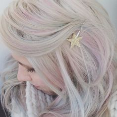 mother of pearl hair color  Google Search  hair  Pinterest