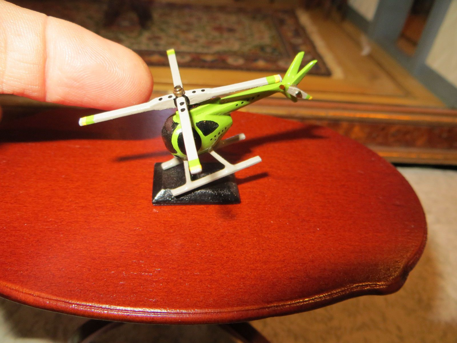 Robert Street - toy helicopter with moving parts; sold on ebay for $54