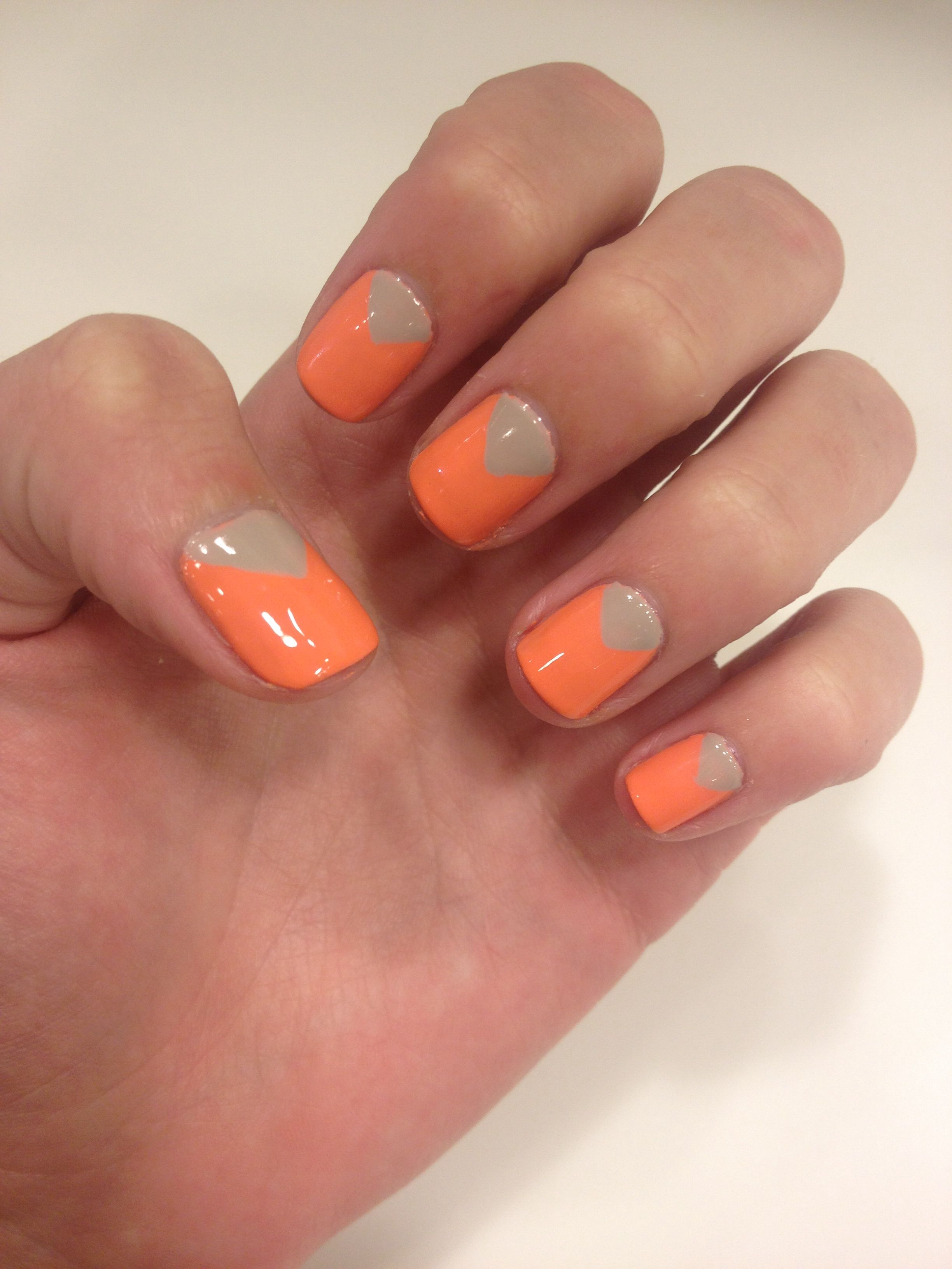 My geometric nails