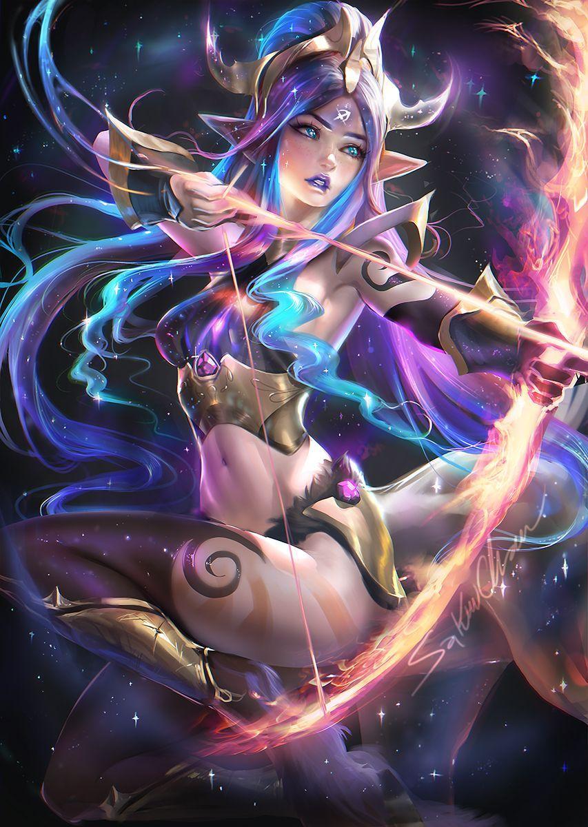 elf girl archer | fantasy art and concept | pinterest | fantasy art