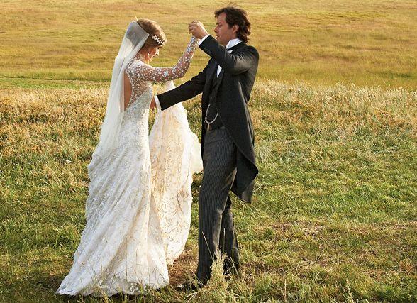 Lauren Bush In Ralph Wedding