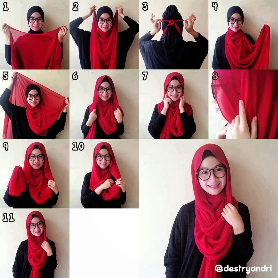 Pin By Cika R Setianingsih On Hijab Tutorial Pinterest