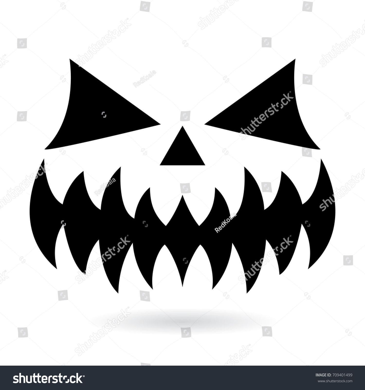 This scary human skull silhouette wall sticker will add a