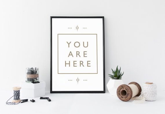 Downloadable Mindfulness Poster A4 or 8 x 10 inch Print