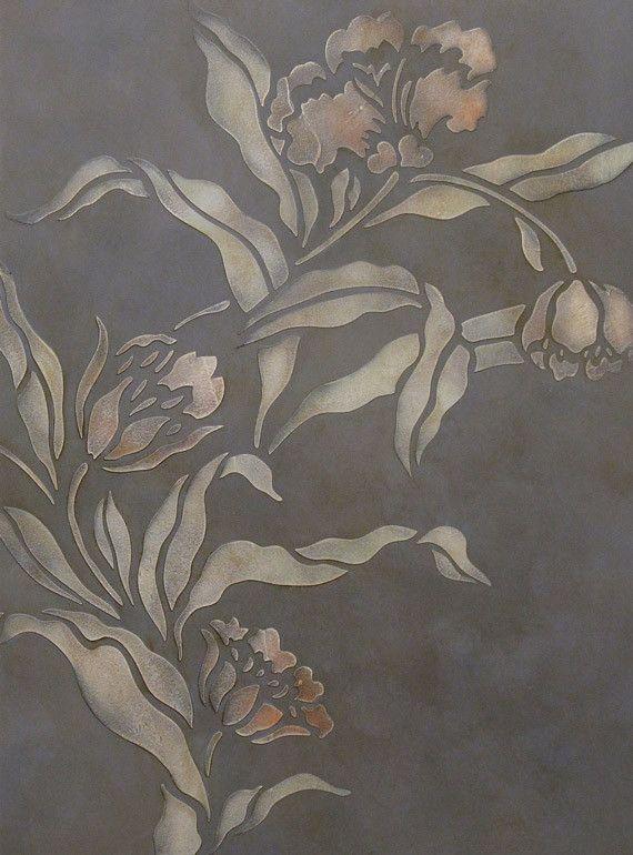 Pheobe's Tulip Stencil                                                                                                                                                                                 More