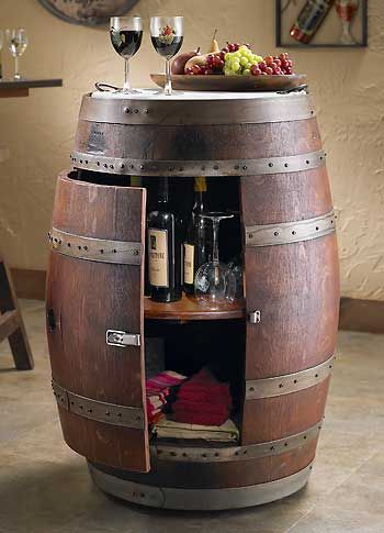 Used Metal Storage Cabinet >> Wine Barrel Cabinet : Wild Wings | RANCHES, BARNS & DECORE | Pinterest | Barrels, Whiskey ...