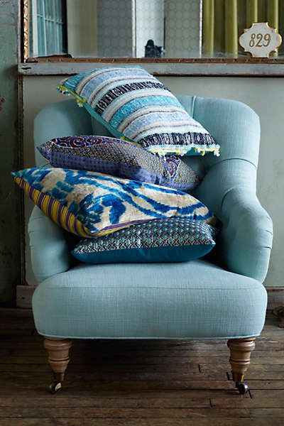 Anthropologie - Dian Jacquard Pillow