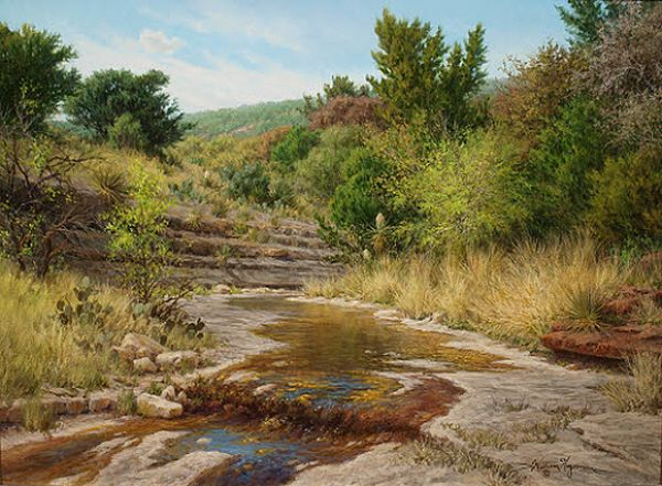 Realistic Art Gallery Of Oil Paintings By William Hagerman Landscape Paintings Landscape Landscape Artist