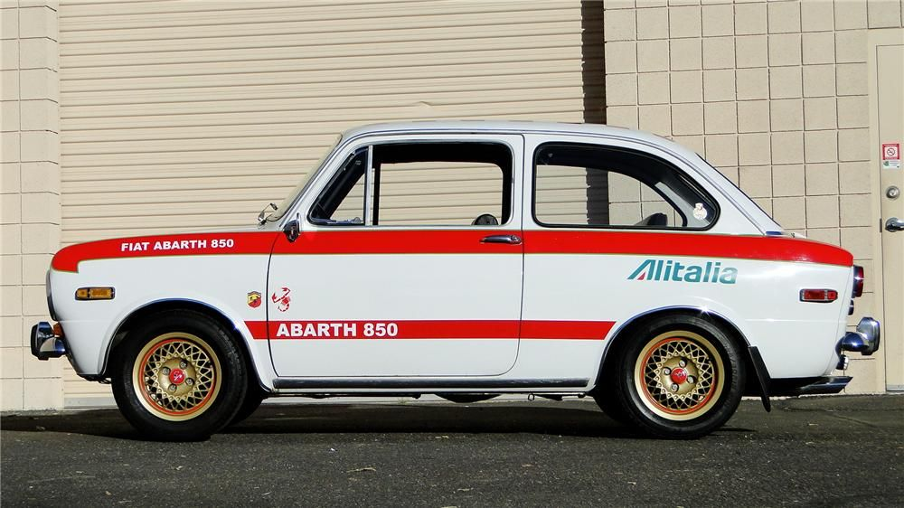 Half Zero 1971 Fiat 850 Berlina Oldtimers Fiat 850 Jackson