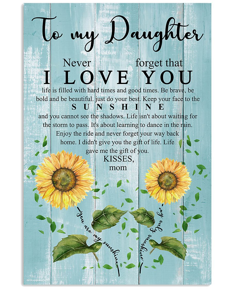 MOM TO DAUGHTER Vertical Poster