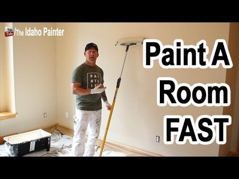 10 Steps To Painting A Room In 20 Minutes This Is How We Paint Fast The Cutin Video On You