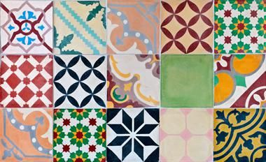 Decorative Vinyl Floor Tiles As Printed Material Vinyl Floors Offer An Unlimited Variety Of