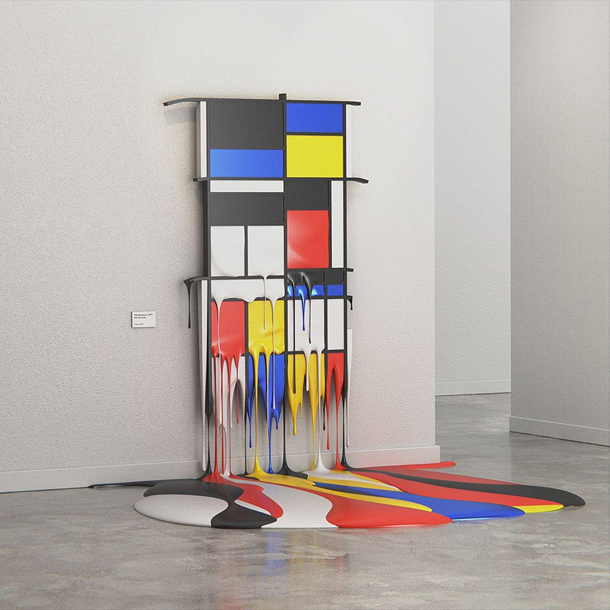 Melting Masterpieces: Digital Artworks by Alper Dostal | Pinterest ...