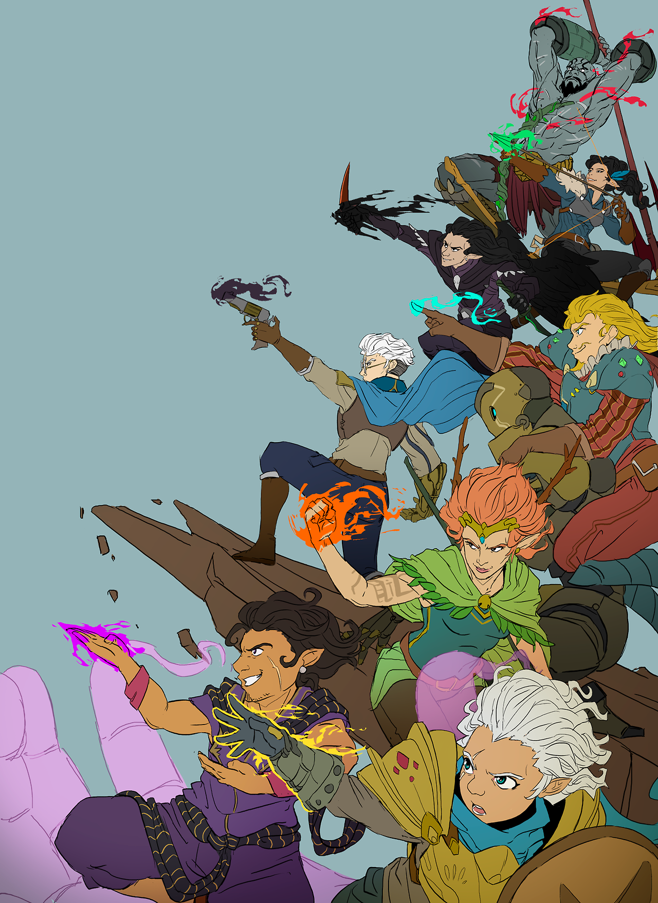 Critical Role Fan Art Gallery Stories That You Paint By The Fire Geek And Sundry Critical Role Fan Art Critical Role Characters Critical Role The fandom nickname for fans of the show is critters. pinterest