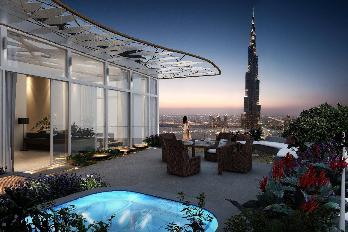 Dubai luxury homes luxury real estate burj khalifa dubai for The top hotels in dubai