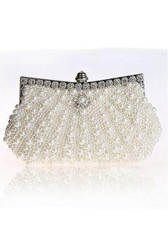 Stunning Ivory Perlen Clutch # 92045 € 26.93 SAPJD7M82X - SchickeAbendKleider.de