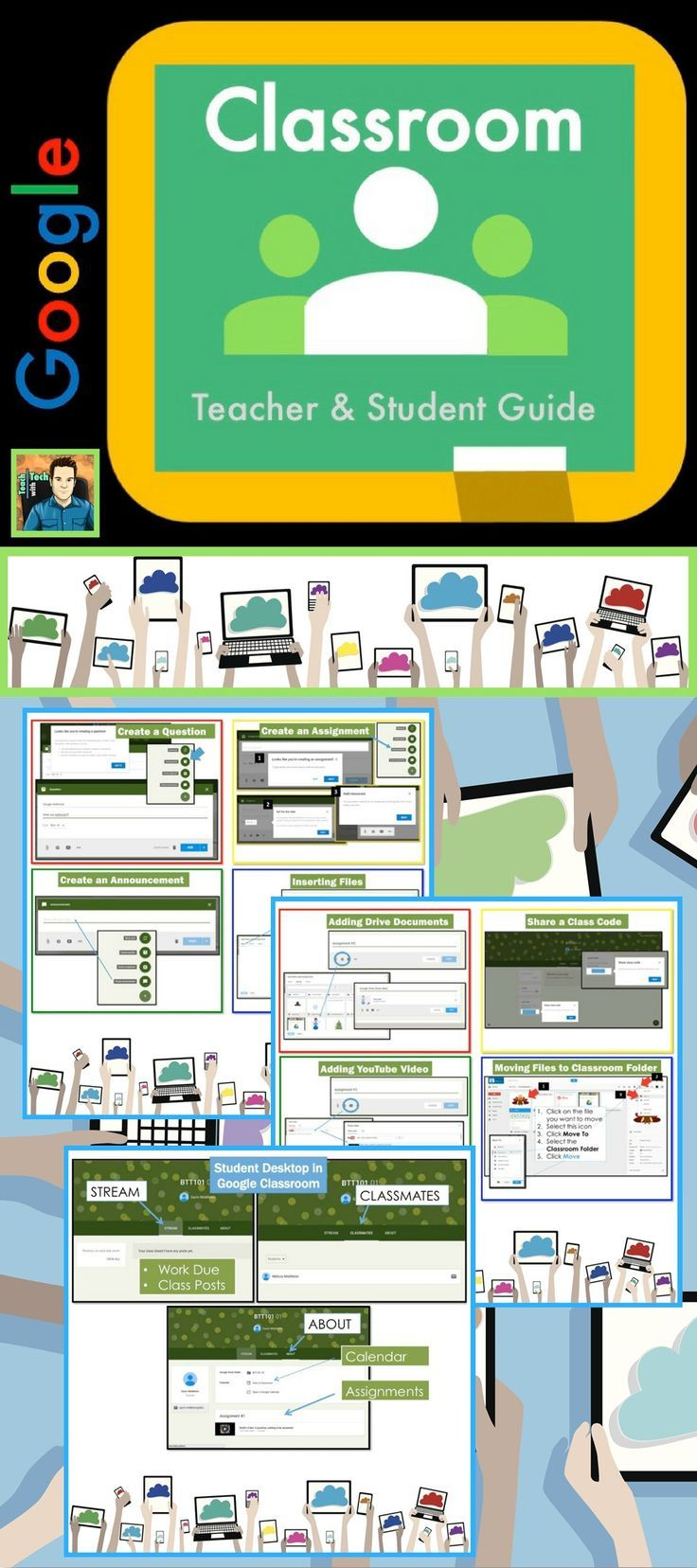 Google classroom is your mission control for class create