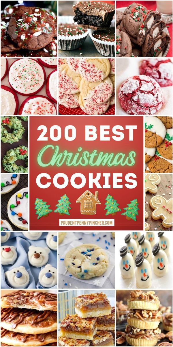 200 Best Christmas Cookies Get started on your Chr