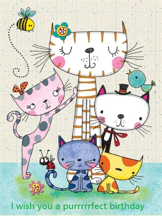 Pin De Annette Em Katte En Diere Arte Com Gatos Desenhos De