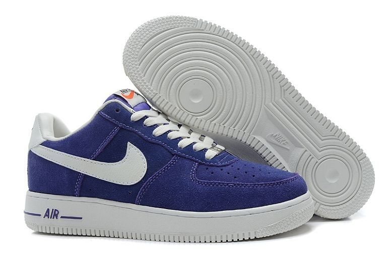 air max force 1 blanc et bleu