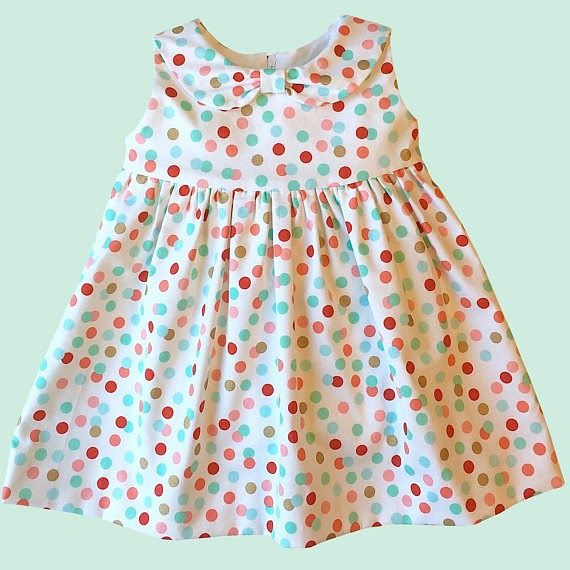 Fun and Easy Summer Baby Dress Sewing Pattern   Sew baby, Dress ...