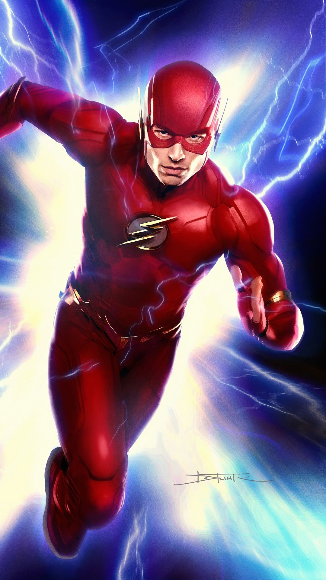 Flash art4k mobile wallpaper iphone android samsung