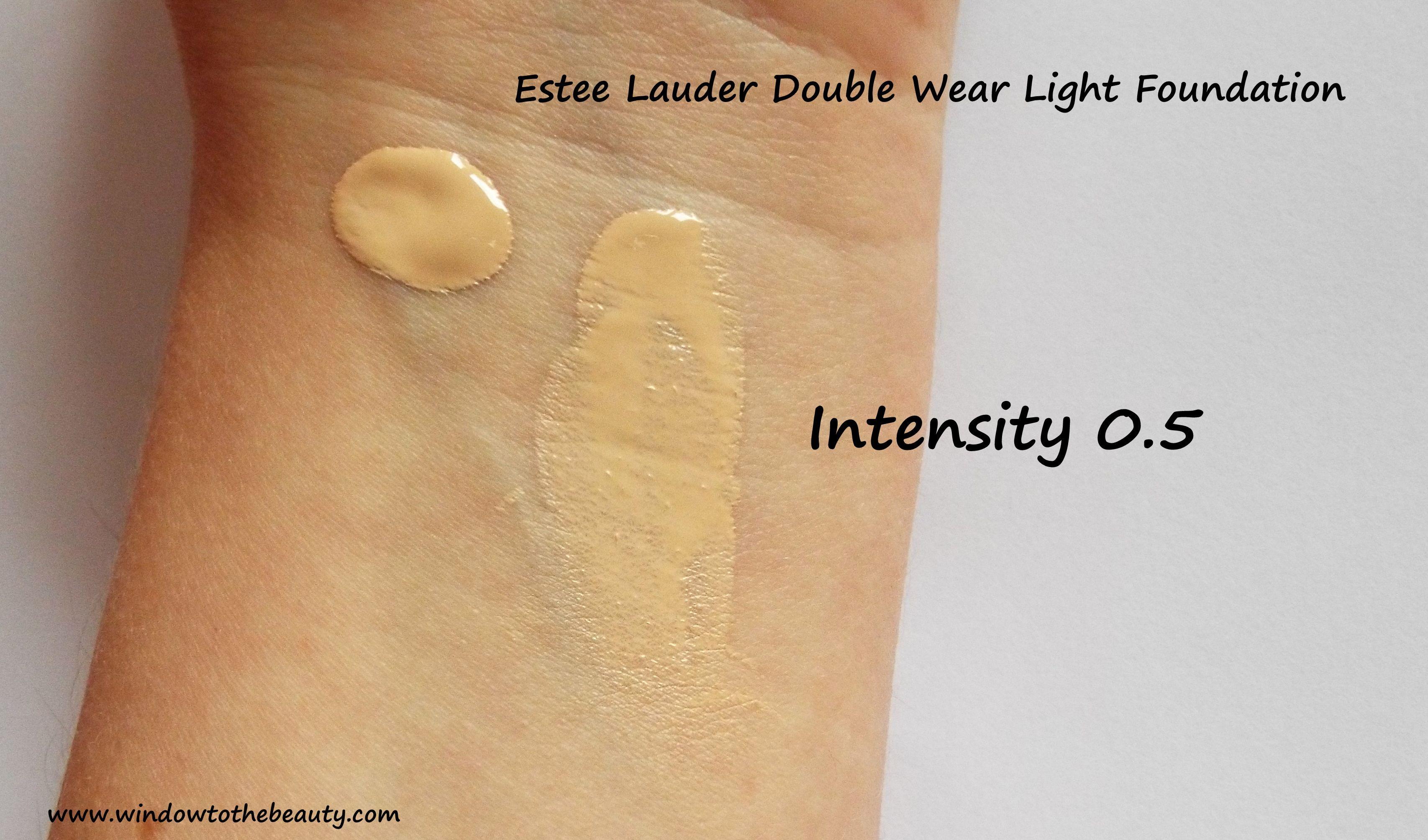 Charming Estee Lauder Double Wear Light Foundation 0.5 Amazing Design