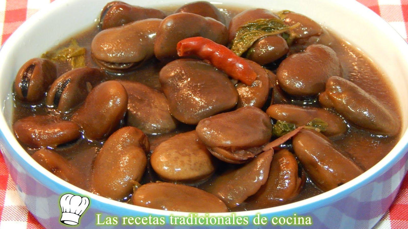 Habas cocidas con hierbabuena ensaladas pinterest - Guisos caseros faciles ...