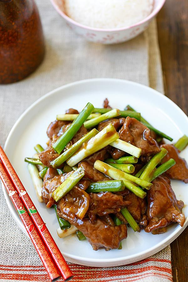 An Easy Mongolian Beef Recipe That You Can Make At Home And It S A