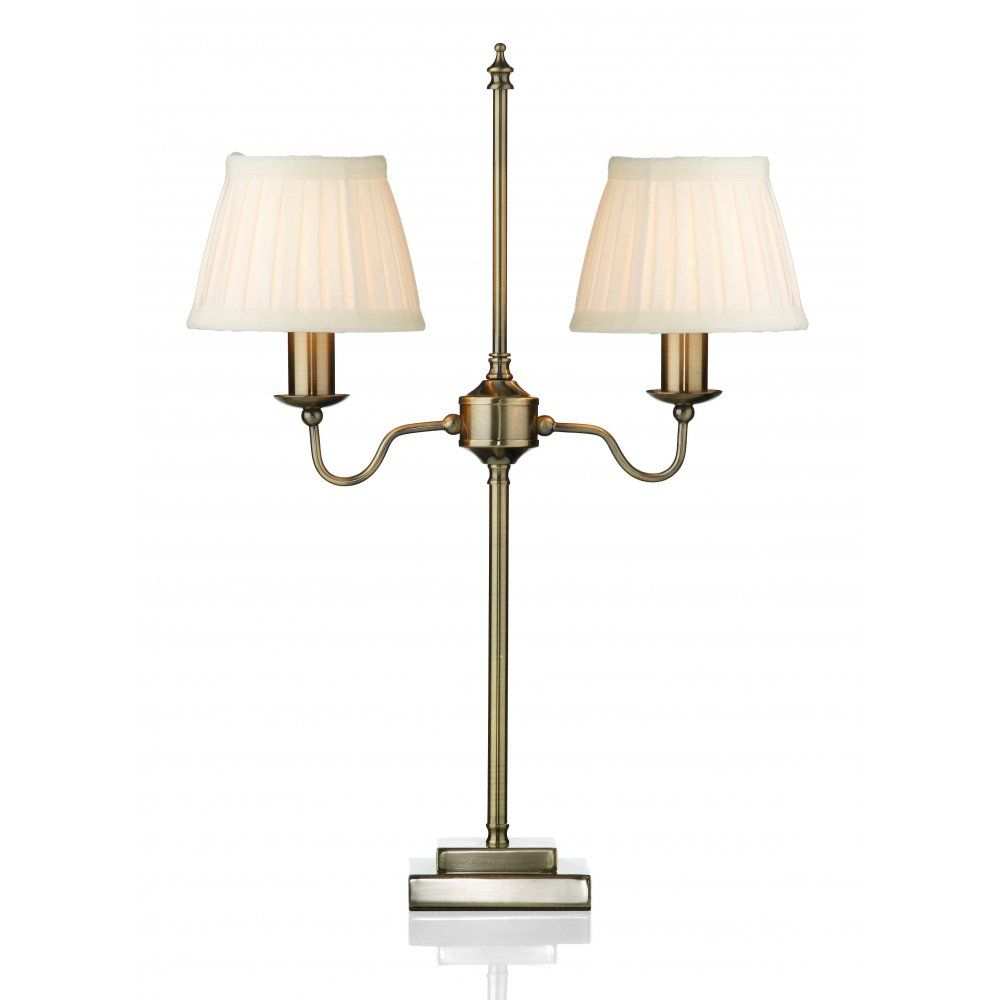 antique lighting for sale uk. the lighting book rufus twin arm antique brass table lamp with shades for sale uk