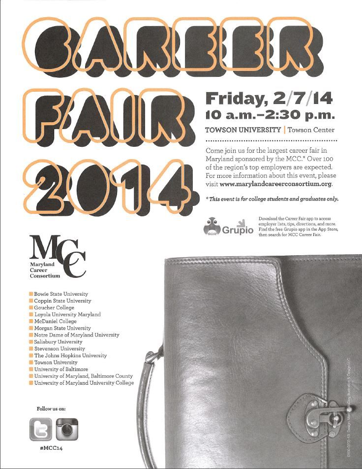 MCC Career Fair Friday, February 7, 2014 Online